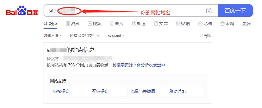SEO搜索引擎常见操作指令-site命令
